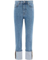 Nanushka Cho Turn-up Jeans - Blue