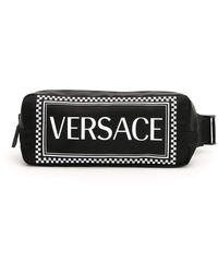 Versace Vintage Logo 90 S Beltbag - Black
