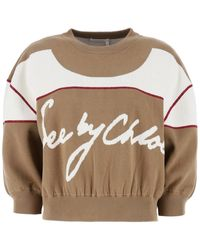 See By Chloé Sweaters - Natural
