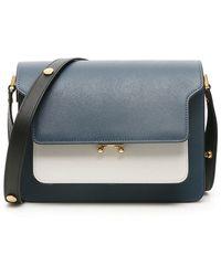 Marni Trunk Medium Bag - Blue