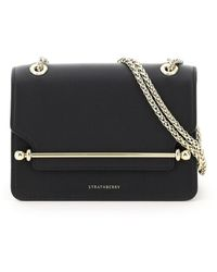 Strathberry Eastwest Mini Bag Os Leather - Black
