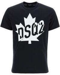 DSquared² - Dsq2 Milano Print T-shirt - Lyst