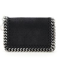 Stella McCartney Falabella Card Holder Pouch - Black