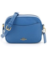 COACH Leather Camera Bag - Blue