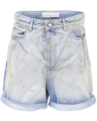 Golden Goose Deluxe Brand - Denim Bobby Bermuda Shorts - Lyst