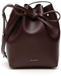 Mansur Gavriel Mini Bucket Bag - Purple