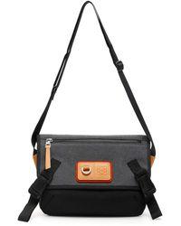 Loewe Eye Nature Messenger Bag - Black