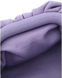 Bottega Veneta The Pouch Neck Purse - Purple