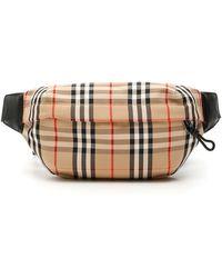 Burberry Medium Vintage Check Bonded Cotton Bum Bag - Multicolour
