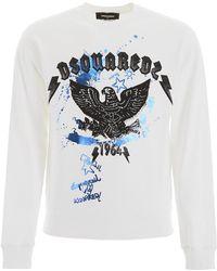 DSquared² Eagle Sweatshirt - Multicolour