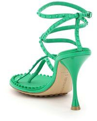 Bottega Veneta Lagoon Bubble Sandals - Green
