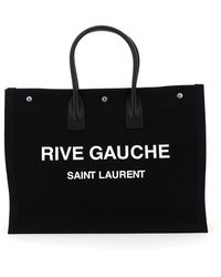 Saint Laurent BORSA NOE SHOPPER RIVE GAUCHE - Nero