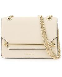 Strathberry Eastwest Mini Bag Os Leather - White