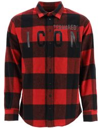 DSquared² Icon Chechered Shirt