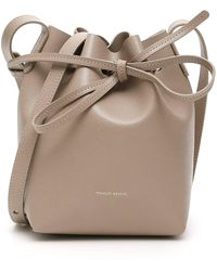 Mansur Gavriel Mini Mini Bucket Bag - Natural