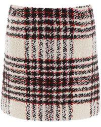 Tory Burch Tweed Mini Skirt - Multicolour
