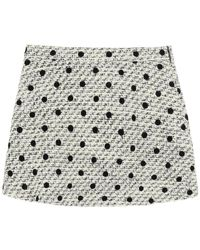 Valentino SHORTS TWEED A POIS - Multicolore