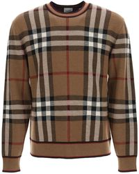 Burberry Vintage Check Sweater - Brown