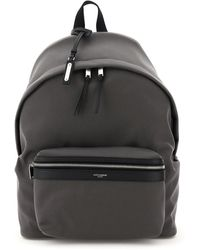 Saint Laurent City Backpack - Grey