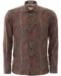 Etro - Silk Paisley Shirt - Lyst