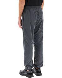 MSGM JOGGER Trousers In Iridescent Nylon 46 Technical - Multicolour