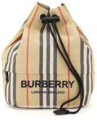 Burberry Phoebe Bucket Pouch - Multicolor