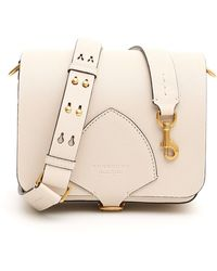 Burberry Borsa scudo equestre the satchel - Neutro