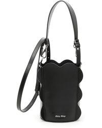 Miu Miu - Soft Calf Bucket Bag - Lyst