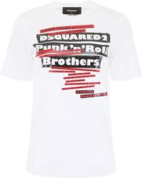 DSquared² Punk'n'roll T-shirt - White