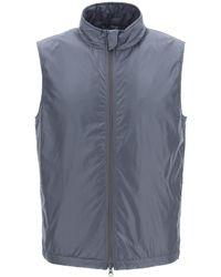 Aspesi Vernes Vest With Thermore Padding S Technical - Grey