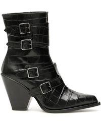 Pinko Lucciola Boots - Black