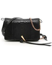 Stella McCartney Mini Bag Alter Snake - Nero