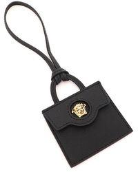 Versace La Medusa Bag Charm - Black