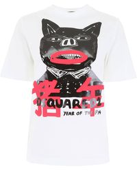 DSquared² Year Of The Pig T-shirt - White