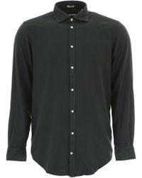 Massimo Alba Genova Shirt - Green