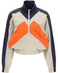 KENZO Sport Little X Colour Block Windbreaker Jacket L Technical - Multicolour