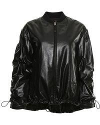 Prada - Leather Jacket - Lyst