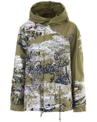 Mr & Mrs Italy - Embroidered Mini Parka - Lyst