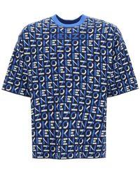 KENZO - Monogram Jacquard Sweater - Lyst