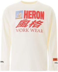 Heron Preston T-SHIRT STAMPA LOGO - Multicolore