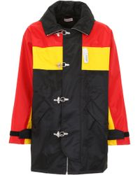 Palm Angels - Tricolor Racing Parka - Lyst