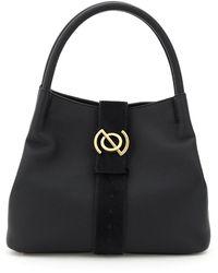 Zanellato Pura Line Zoe M Bag Os Leather - Black