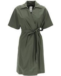 Weekend by Maxmara Wrap Dress - Green