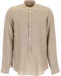 Massimo Alba - Linen Kos Shirt - Lyst