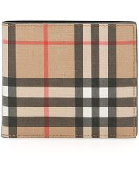 Burberry Vintage Check Bifold Wallet - Natural