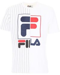 Fila - Logo Baseball T-shirt - Lyst