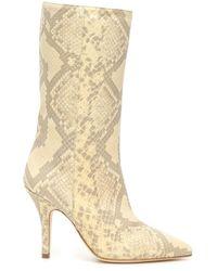 Paris Texas - Python-print Boots - Lyst