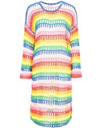 Mira Mikati - Rainbow Crochet Dress - Lyst