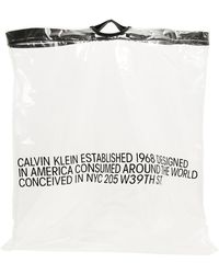 CALVIN KLEIN 205W39NYC Oversized Bag - Black