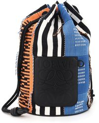 Loewe Sailor Craft Backpack Paula's Ibiza Collaboration - Black
